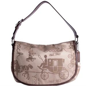 Coach Signature Horse & Carriage handbag